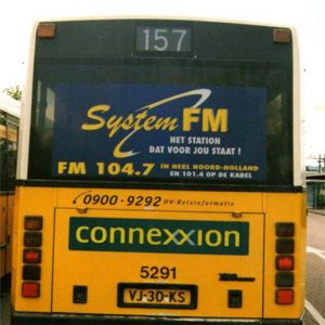 SystemFM Buss Advertising